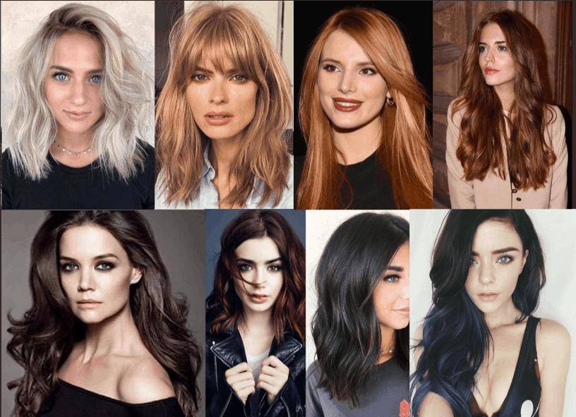 colori e riflessi di capelli