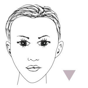 viso-donna-triangolo-rovesciato-