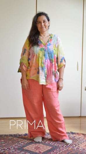 Consulente d immagine personal shopper Valeria Viero prima e dopo Anna M