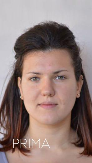 Consulente d immagine personal shopper Valeria Viero prima e dopo Nicole B
